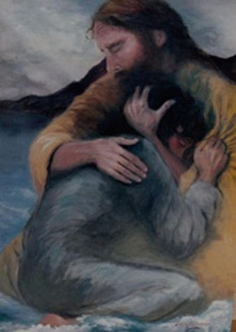 pic of Jesus hugging